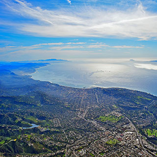 Above Santa Barbara