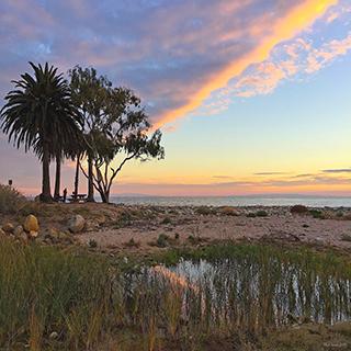 Sunset at Refugio State Beach